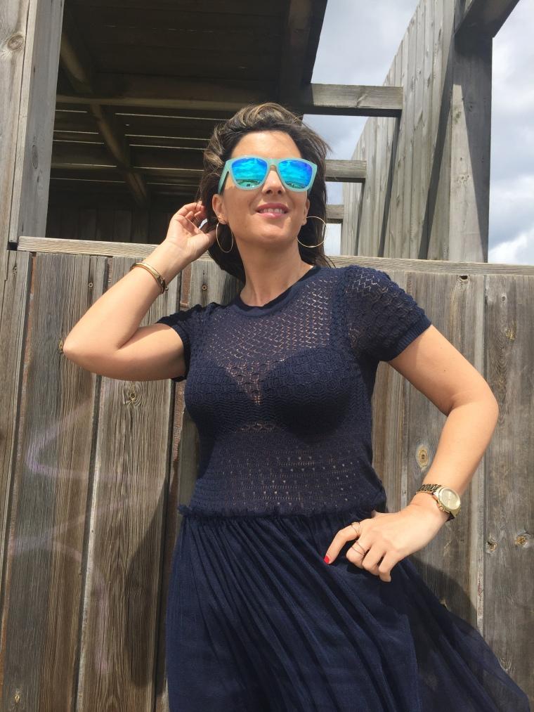 vestido tul azul 17